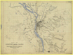 Cairo [Maps of County around]